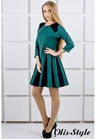 Платье Хэлли зеленый (44-52), фото 1