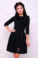 Платье Violet черный, фото 1