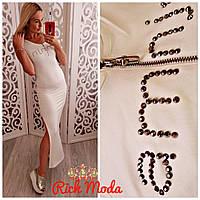 Женское брендовое платье AMN JN, в моделях, Турция.  ИТ-3-0618
