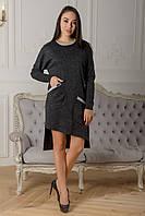 Платье София темно-серый, фото 1