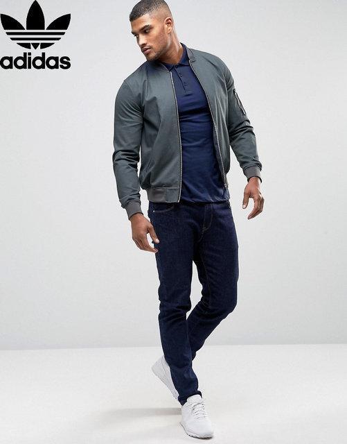 Футболка, поло, тенниска Adidas Адидас темно -синяя|Качественная реплика