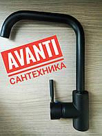 Смеситель Haiba Hans Black 011-G (для кухни)