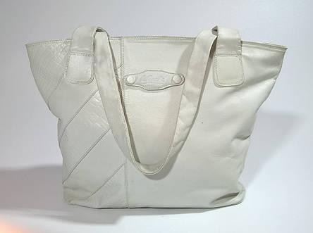 Сумка -шоппер женская из натуральной кожи бренд L.CREDI (Italy), фото 2
