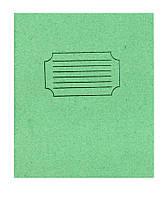 Зошит 24 аркушів #клітина проста обкладинка ТЄШКА уп30