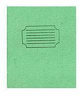 Зошит 24 аркушів =лінія проста обкладинка ТЄШКА уп30