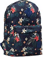 Городской рюкзак Bagland Молодежный сублимация тропические цветы
