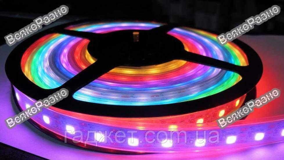 Светодиодная лента RGB 5050 60 led/m 12V IP67.  LED лента.