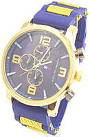 Мужские наручные часы, синие, фото 1