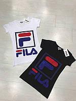 """Женская брендовая футболка """"FILA"""""""