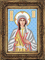 Схема для вышивки бисером - Злата Святая Великомученица, Арт. ИБ4-153-1