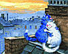 Картина по номерам 40х50 Любовь на крыше (GX22931)