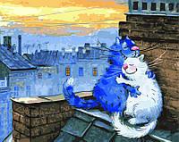 Картина по номерам 40х50 Любовь на крыше (GX22931), фото 1