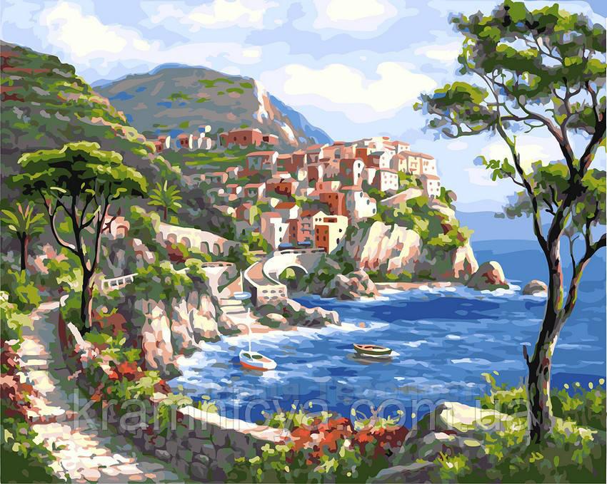 Картина по номерам 40х50 Райский уголок (GX23164)