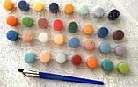 Картина по номерам 40х50 Корзина полевых цветов (GX23203), фото 8