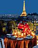 Картина по номерам 40х50 Ужин в Париже (GX23218)