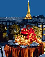 Картина по номерам 40х50 Ужин в Париже (GX23218), фото 1