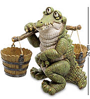 Кашпо Крокодил с коромыслом (Sealmark) GG-4743-LC