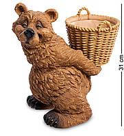 Кашпо Медведь с корзиной (Sealmark) GG-4487-LG