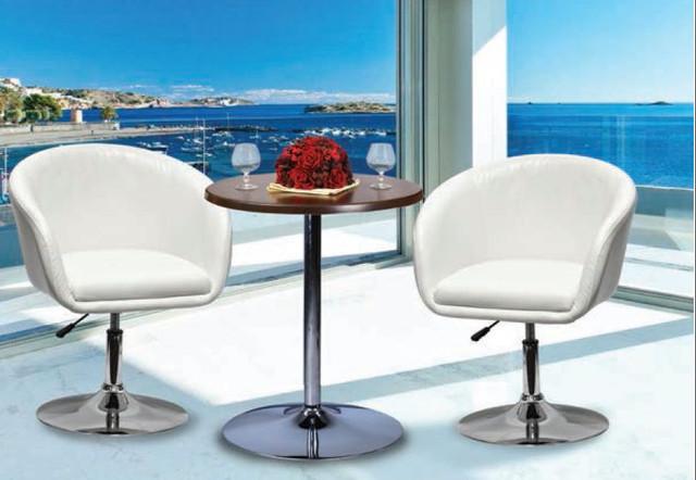 Кресло барное Дамкар Хром Неаполь-50.