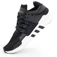 Кроссовки Adidas Equipment Support (EQT) черно-белые. Топ качество! - Реплика р.(41, 42)