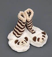 """Тапочки-зверюшки """"Панда""""детские CR-05"""