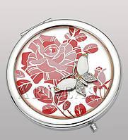 Карманное зеркальце серебр. WIN- 52