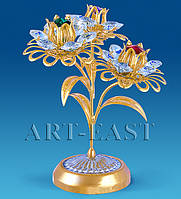 """Композиция """"Три цветка"""" с цв.кр. (Юнион) AR-1126/ 1"""