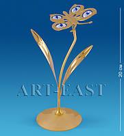 "Фигурка ""Бабочка на цветке"" 10x8x18 см., Crystal Temptations, США"