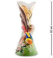 Ваза фарфоровая ''Золотой фазан'' (Pavone) FM-54