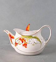 Чайник заварочный Орхидеи фарфор