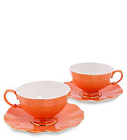 "Чайный набор на 2 персоны ""Грациозо"" оранж AS-40"