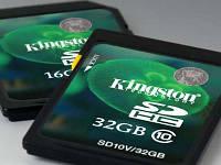 Kingston представила карти пам'яті нового покоління