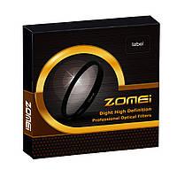 Светофильтр ZOMEI - макролинза CLOSE UP +4 72 mm, фото 1
