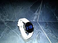 Часы наручные Led Watch Mirror Силиконовый ремешок