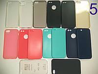 ПРЕМИУМ Силиконовый чехол для/на iPhone X 8 Plus 8 7+ 7 6S+ 6S 6+ 6 SE 5S 5 4s 4 Айфон + Прозрачный
