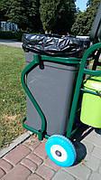 Тележка для сбора мусора на территориях санаторий и домов отдыха, фото 1