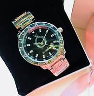 Женские наручные часы Pandora (Пандора), серебристый корпус с черным циферблатом ( код: IBW123SB ), фото 1