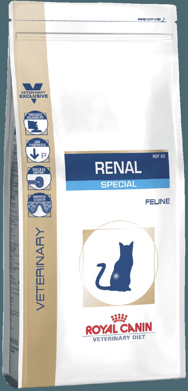 Сухой корм для кошек Royal Canin Renal Special при почечной недостаточности 500 г