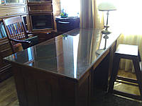 Прозрачное стекло для стола