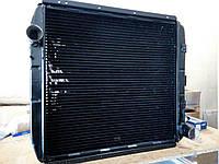 Радиатор охлаждения двигателя КамАЗ-5320 3-х рядный с патрубком «Авторадиатор»