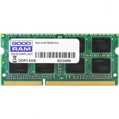 Модуль памяти для ноутбука SoDIMM DDR3 4GB 1600 MHz GOODRAM
