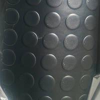 Ковер пола салона (рулон 20м-д,2м-ш,2мм-толщина)(линолиум круглый,черный) Газель,Соболь (пр-во Россия)