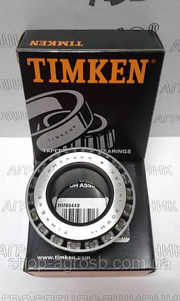 Подшипник TIMKEN HM89449/HM89410, фото 2