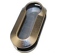 Корпус під викидний ключ Fiat (Фіат) сріблястий