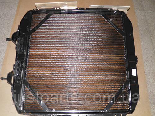 """Радиатор охлаждения двигателя КрАЗ-256 (4-х рядный) (производство """"Авторадиатор"""") 256Б-1301010"""
