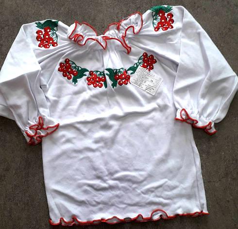 Вышиванка для девочки 6-10 лет, фото 2