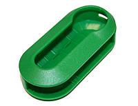 Корпус под выкидной ключ Fiat (Фиат) зелёного цвета