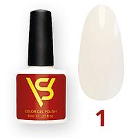 Гель лак для ногтей SV 8 мл № 001