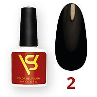 Гель лак для ногтей SV 8 мл № 002