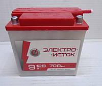 Аккумулятор для скутера/мопеда/мотоцикла сухозаряженный 12В 9Ач 137х72х141